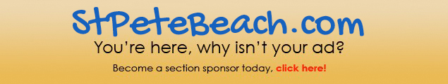 Advertise on St Pete Beach .com